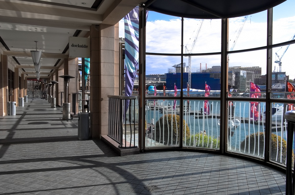 Dockside Balcony - South End